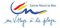 sainte marie de la mer ville logo small