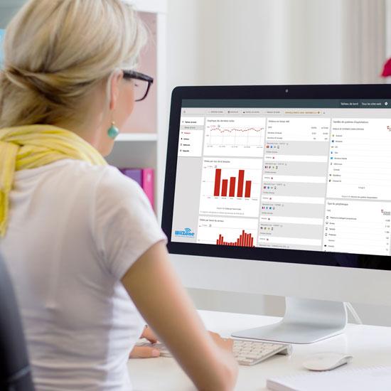 panneau administration wiizone matomo gestion wifi statistiques visite