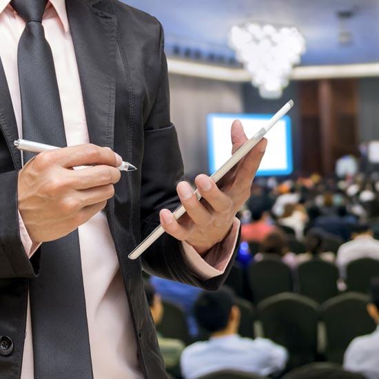 presentation ipad conference connectee wifi haut debit wiizone