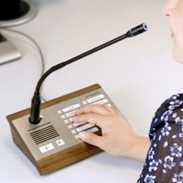 pupitre micro connecte wifi wiizone france sonorisation